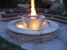 Patio Fire Pit Propane Wonderful Decoration Fire Pit Propane Entracing Outdoor Fireplaces