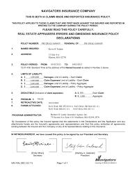 Real Estate Appraiser Resume Resume Appraiser License E U0026 O Certificate Kevin Trahan Appraiser