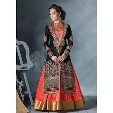 trendy designer floor length anarkali suits for diwali