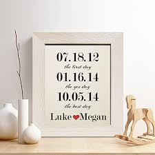 cotton anniversary gifts personalized 2nd cotton anniversary gift for him or