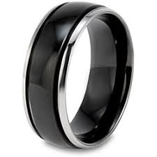 black ring this would look great on chris esp if i had a black diamond in my