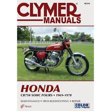 amazon com clymer honda in line fours cb750 sohc manual m341