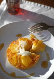 pineapple polenta upside down cake u2013 zoe bakes