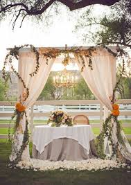 wedding ceremony canopy 15 creative wedding canopies for your big day brit co