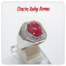 ring cincin alpaka jual cincin ruby birma ring alpaka mewah di lapak robby