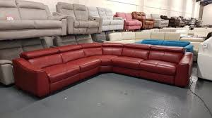 red leather recliner sofa second hand household furniture buy