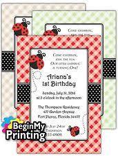 ladybug baby shower invitations ebay
