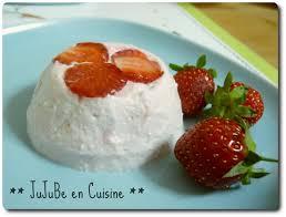 cuisine brousse crème de brousse aux fraises jujube en cuisine
