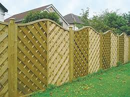 Types Of Garden Fences - different types of yard fences fence panels designs are possible