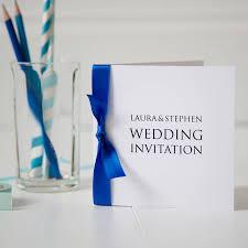 Order Invitation Cards Personalised Wedding Invitation By Twenty Seven