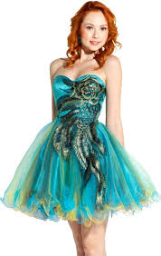 Dresses For Prom Peacock Dresses For Homecoming