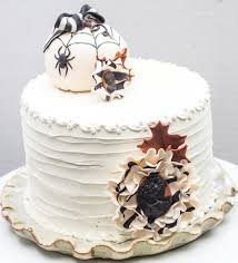 Halloween Wedding Cake Toppers Thanksgiving Seasonably Adorned