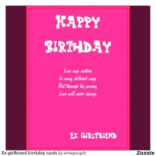 beautiful pink birthday wish card for girlfriend nicewishes