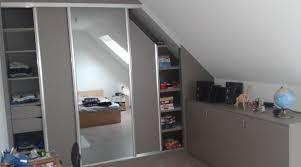 meuble bas pour chambre placard et meuble sous pente sur mesure inspirations avec meuble