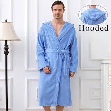 robe de chambre avec capuchon grande éponge toweled peignoir à capuche hommes avec capuche solide