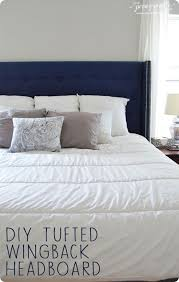 How To Make Your Own Fabric Headboard by Best 25 Wingback Headboard Ideas On Pinterest King Size