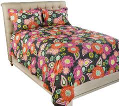 Vera Bradley Twin Comforter Vera Bradley Reversible Print Full Queen U2014 Qvc Com