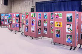 student art display options screenflex room dividers
