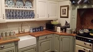 paint for kitchen cupboard doors uk the split colour units made this kitchen quite unique