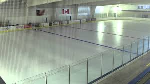 how to paint a hockey rink youtube