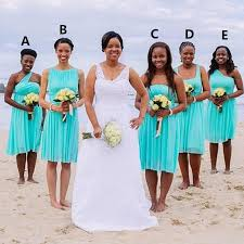 south wedding dresses bridesmaid dresses turquoise blue 2016 knee length ruched