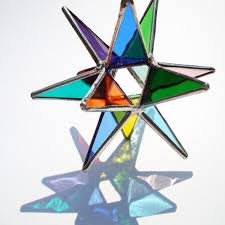 50 stained glass moravian ornaments suncatchers bundle