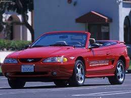 mustang of indianapolis ford mustang cobra indy pace car 1994 pictures information