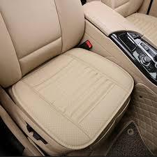 housse de siege en cuir pour voiture coussin de siège universel housse de siège en cuir pu pour fauteuils