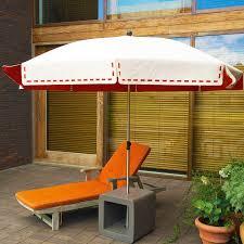 Orange Patio Umbrella by Fabric Patio Umbrella Couture By Lucile Roybier Symo Parasols