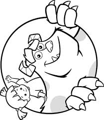 100 ideas boo monsters inc coloring pages on emergingartspdx com