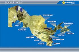 Sas Route Map by Routes Map Uzbekistan Airways