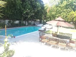 beverly hills guest house pool parking vrbo