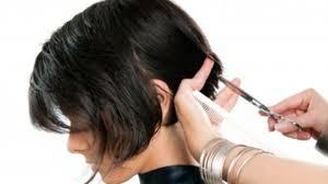 cut hair short long hair cutting u0026 haircut for women step by