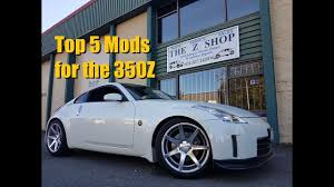 nissan 350z used parts for sale top 5 mods for the nissan 350z infiniti g35 youtube