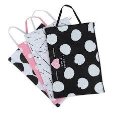 polka dot stationery kawaii polka dots printed black white oxford a4 file bag snap