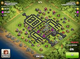 clash of clan clash of clans town hall base designs 1337 wiki