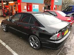 lexus altezza is200 2003 lexus is200 black 4 door saloon rwd altezza in barking