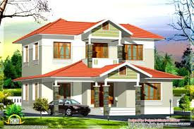 home design types 2380 sq ft box type house kerala home design and