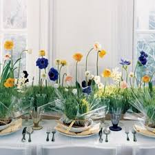 Wedding Table Arrangements Picture Of Fresh Spring Wedding Table Decor Ideas
