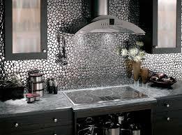 Metal Tile Backsplash Ideas Roselawnlutheran - Metal tiles backsplash