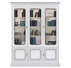 Classic Bookcase Classic Bookcase With Glass Doors Amazon Co Uk Kitchen U0026 Home