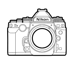 photo camera 24 objects u2013 printable coloring pages