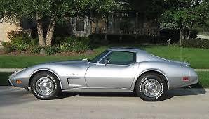 corvette l48 1975 chevrolet corvette silver stingray coupe l48 350 v8 4 speed t
