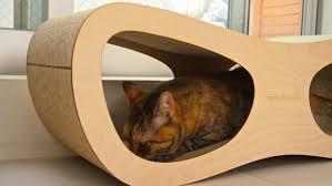 Cat Scratch Lounge Cat Lounge Scratcher By Miglio Design Youtube