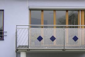 balkon lochblech balkongeländer edelstahl lochblech