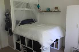 Bedroom Storage Hacks by Expedit Storage Bed Ikea Hackers Gallery And Platform Hack