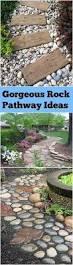 best 25 river rock landscaping ideas on pinterest diy