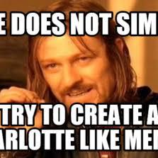 Charlotte Meme - charlotte meme funny image photo joke 02 quotesbae