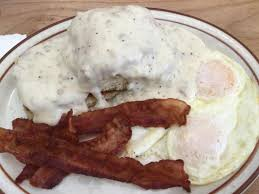 1 2 3 biscuite meal one biscuit and gravy two eggs and three