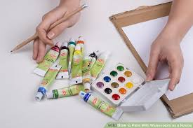 3 ways to paint with watercolors as a novice wikihow